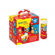 SCATOLA 6 BOLLE DI SAPONE 60ML PARTY GIFTS GIOTTO BE-BÈ UN SIMPATICO REGALO PER LA TUA FESTA.DA FILA MADE IN ITALY