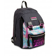 ZAINO SCUOLA SDOPPIABILE MIX FEELING FREE GIRL 27X41X22CM 28L MULTICOLOR 7.1 INNOVATION LAB TOP QUALITY SEVEN ITALY