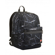 ZAINO SCUOLA ORGANIZZATO SEVEN REVERSIBILE GRAY BACKPACK PRO XXL DOUBLE PROJECT POWER BANK 44X32X20CM 2ZIP GAR.4 ANNI