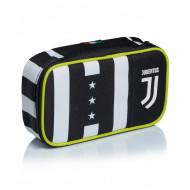 QUICK CASE ASTUCCIO SCUOLA 1 ZIP FINO ALLA FINE FC JUVENTUS CONTENUTO 45PZ GIOTTO/ TRATTO CANCELLIK/LYRA.SEVEN ITALY