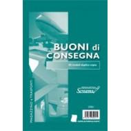 BUONI DI CONSEGNA 50 +50 FOGLI CARTA AUTORICALCANTE MAGAZZINO E TRASPORTI FORMATO A5. 14,8X21,6CM. SCREAMO S3061