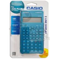 CALCOLATRICE SCIENTIFICA CASIO FX 220 PLUS 181FUNZIONI DISPLAY A 2LIN. FUNZIONE MULTI REPLAY 1 MEMOR.INDIP.GARANZ.3 ANNI