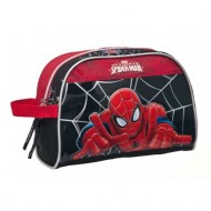 BUSTINA 1 CERNIERA BEAUTY SPIDERMAN BLACK CON STAMPA A RILIEVO LUCIDA