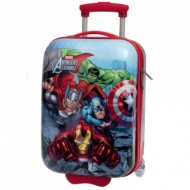 TROLLEY ABS AVENGERS ASSEMBLE MARVEL ORIGINAL 30X48X20CM.BAGAGLIO A MANO