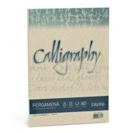 50 FOGLI PERGAMENA CALLYGAFRY COLORE CREMA 05.CARTA NUVOLATA A4-90GR.210X297MM.INK-JET FAVINI MADE IN ITALY
