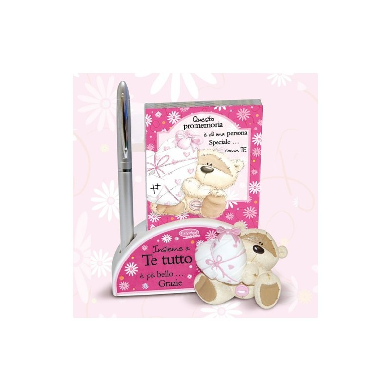 Notepad in resina penna regalo fizzy moon con frase for Tutto in regalo