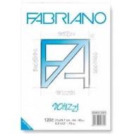 BLOCCO SCHIZZI/BROGLIACCIO FABRIANO 29,7X42 100 FOGLI A3