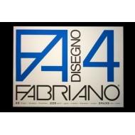 ALBUM BLOCCO DA DISEGNO F4 20 FOGLI LISCI 220G/MQ.FABRIANO