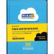 DIARIO SCUOLA SKUOLA NET BY SMEMORANDA 11X15CM.DATATO 2016 DISPONIBILE IN BLU E AZZURRO PRODOTTO ORIGINALE GUT ITALY