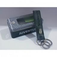 PORTACHIAVI 3 AGGANCI FC JUVENTUS ORIGINAL IN BOX REGALO IN LATTA PRODOTTO UFFICIALE COD.13389 E.CASTELLANO IMMA ITALY