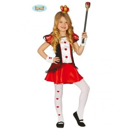 Di 1012 Per Cuori Damaregina Costume Bimba Anni Carnevale Vestito FwxEZnf