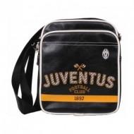 BORSELLO TRACOLLA FC JUVENTUS 22X27X7CM.100%PU 100%PL PRODOTTO UFFICIALE COD.13463 E.CASTELLANO IMMA ITALY