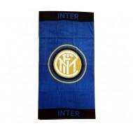 TELO MARE FC INTERNAZIONALE ORIGINAL 90X170CM.100% COTONE TOP QUALITY PRODOTTO UFFICIALE DOSTRIB.DA HERMET MILANO ITALY
