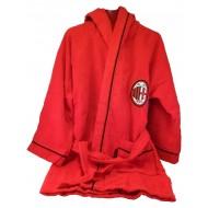 ACCAPPATOIO MICROSPUGNA SALVASPAZIO AC MILAN ORIGINAL 4/6 ANNI TOP QUALITY 100% COTONE PROD.UFFICIALE HERBET ITALY