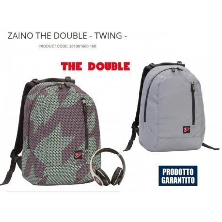 ZAINO DOUBLE TWIG SEVEN ORIGINALE 40X30 CON CUFFIE OMAGGIO