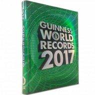 DIARIO SCUOLA STANDARD GUINNES WORLD RECORDS 2017 OFFICIALLY AMAZING ORIGINAL 18X13,5X2,2CM.PANINI SCUOLA ITALY