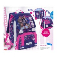 ZAINO SCUOLA ESTENSIBILE ALEX CO DISNEY ORIGINAL 42X33X14+8CM.TOP QUALITY DISTRIBUITO DA ACCADEMIA ITALY
