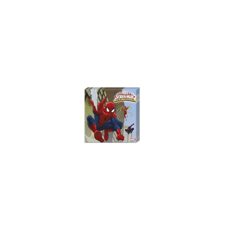 Tovaglioli carta decorati ultimate spider man web warriors - Tovaglioli di carta decorati ...