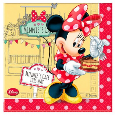 Tovaglioli carta decorati minnie cafe original disney - Tovaglioli di carta decorati ...