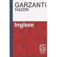 MINI DIZIONARIO HAZON INGLESE ITALIANO 13,5X9,5 CM.INSERTO A COLORI PAR.X COMUNICARE E VIAGGIARE