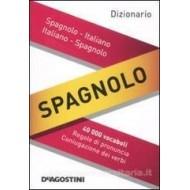 MINI DIZIONARIO SPAGNOLO ITALIANO ITAL. SPAGN. 40 000 VOCABOLI REG.DI PRONUNC.CONIUGAZ.DEI VERBI 9X12CM.