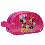 BEAUTY MORBIDO DA VIAGGIO MINNIE E MICKEY DISNEY ORIGINAL 24X14X10CM.PVC/MICROFIBRA TOP QUALITY
