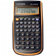 CALCOLATRICE 236 FUNZIONI SCIENTIFICA CITIZEN SR-270 NOR 10+2 DIGT 2 LINE DISPLAY 236 FUNCTI. HARD CASE MICRO HUMANTECH