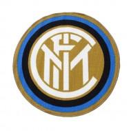 TAPPETO SAGOMATO ANTISCIVOLO FC INTERNAZIONALE DIAMETRO 80CM 75% LATTICE 25% NYLON PRODOTTO UFFICIALE HERMET ITALY