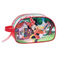 BEAUTY MORBIDO GRANDE MINNIE FLOMEMADE STRWBERRY JAM DISNEY ORIGINAL 24X14X10CM70%POLIESTER 30% PVC DISEGNO A RILIEVO