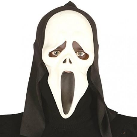Halloween Maschere.Maschera Morbida Con Capuccio Mostro Scream Fantasma Articoli X Travestimenti Di Halloween Carnevale E Scene Horror Parole E Pensieri