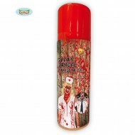 BOMBOLETTA SPRAY SANGUE ROSSO FINTO PER FESTE E SCHERZI DI CARNEVALE/HALLOWEEN E PARTY VARI 75ML.76G.(F AKE BLOOD CLATHI