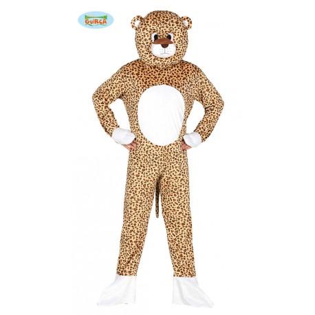 Mis E Leopardo un 5054 Capuccio Carnevale Costume Per Tuta Vestito REqT7TxZ