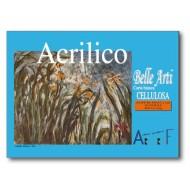 ALBUM ARTGRAF 24X33,9 CM.15 FOGLI 400GR/MQ CARTA BIANCA CELLULOSA 4 LATI COLLATI ADOTTO PITTURA ACRILICO