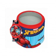 OROLOGIO DA POLSO ANALOGICO SPIDERMAN MARVEL ORIGINAL CON SCATOLA IN LATTA