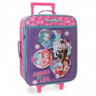 TROLLEY DA VIAGGIO SOFT 2 RUOTE ENCHANTIMALS IN THE WOOD MATTEL ORIGIN. VALIGIA BAG.A MANO 35X50X18CM JOUMMA BAGS ESPANA