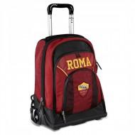 PROMO SCHOOL PACK AS ROMA UFFICIALE ZAINO TROLLEY + ASTUCCIO 3 ZIP SCUOLA FRIXION/GIOTTO/TRATTO DA PANINI SCUOLA ITALY