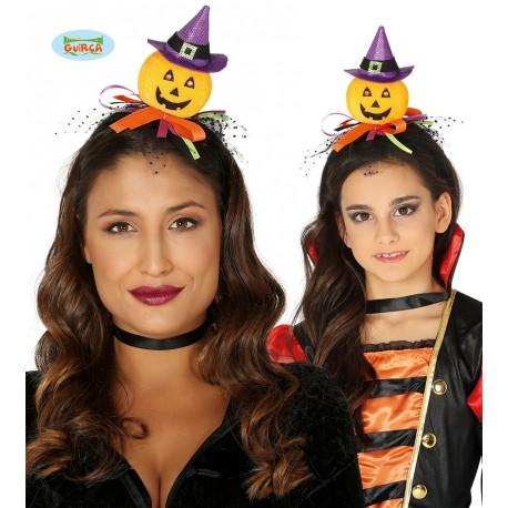 Romote Halloween Cerchietti Zucca Cappello Fasce per Il Festival di Cosplay Halloween del Costume del Partito per Le Vacanze Accessori Puntelli Skeleton Style