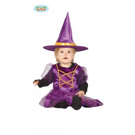 Vestiti Halloween Strega.Costume Strega Baby 6 12 Altezza 80 86cmmesi Vestito E Cappello Per Travestimenti Di Halloween E Carnevale No Accessori Parole E Pensieri