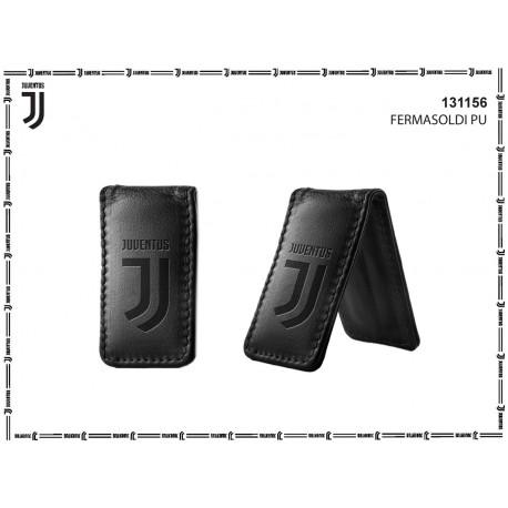 FERMASOLDI FC JUVENTUS PRODOTTO UFFICIALE 8X4X1CM NERO CON LOGO J 100%PVC CALAMITA INTERNA E.CASTELLANO IMMA ITALY