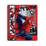 PLAID IN PILE CON STAMPA SPIDERMAN ULTIMATE ACTION 120X140 CM