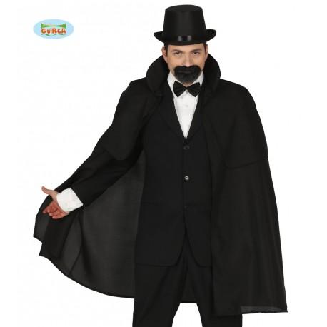 Travestimenti Halloween Uomo.Mantello Nero Uomo Nobile 120cm Con Collo E Mantellina Per Travestimenti Di Carnevale Halloween Conte Dracula Vampiro Parole E Pensieri
