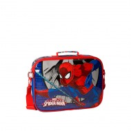 CARTELLA CON COTRACOLLA SCUOLA E CATECHISMO SPIDERMAN ULTIMATE COMIC MARVEL 38X28X7CM STAMPA A RILIEVO 70%MICROF 30% PVC