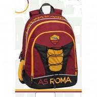 SCHOOL PACK 2019 AS ROMA ZAINO SCUOLA ORGANIZZATO + ASTUCCIO 3 ZIP 41PZ FILA/FRIXION/GIOTTO PROD.UFFICIALE PANINI SCUOLA