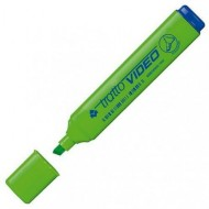 TRATTO VIDEO VERDE FLORESCENT INK MADE IN ITALY