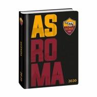 LIBRO DIARIO SCUOLA STORIA E FOTO AS ROMA 16 MESI COPERTINA CARTONATA RIGIDA NERA.PRODOTTO UFFICIALE PANINI SCUOLA ITALY