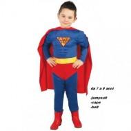 VESTITO CARNEVALE SUPER HERO 7/9 ANNI