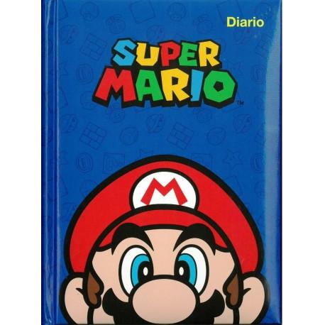 IL LIBRO DIARIO NINTENDO SUPER MARIO E I SUOI AMICI 12 MESI STANDARD18X13,5X2CM COPERTINA IMBOTTITA PANINI SCUOLA ITALY