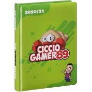 LIBRO SUPERDIARIO STD CICCIOGAMER89 2020/21 CM 18,5X13,5CMRICETTE CUCINA ADESIVI E FOTO DA PANINI SCUOLA MADE IN ITALY