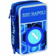 ASTUCCIO 3 ZIP COMPLETO SSC NAPOLI KEEP WINNING VICTORIA BLUE CONTENUTO43PZ GIOTTO/ TRATTO CANCELLIK/LYRA DA SEVEN ITALY
